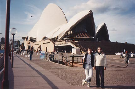 Me and my Dad @ Sydney