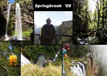 CLICK HERE for our SPRINGBROOK 2-day CAMPING HIKEY TYPE HOLIDAY ;)